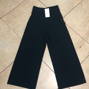 NWT Zara woman flare dress pants size XS